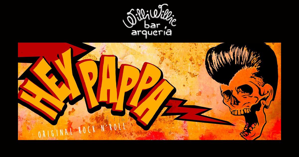 Programação - Banda Hey Pappa (Rock and Roll)