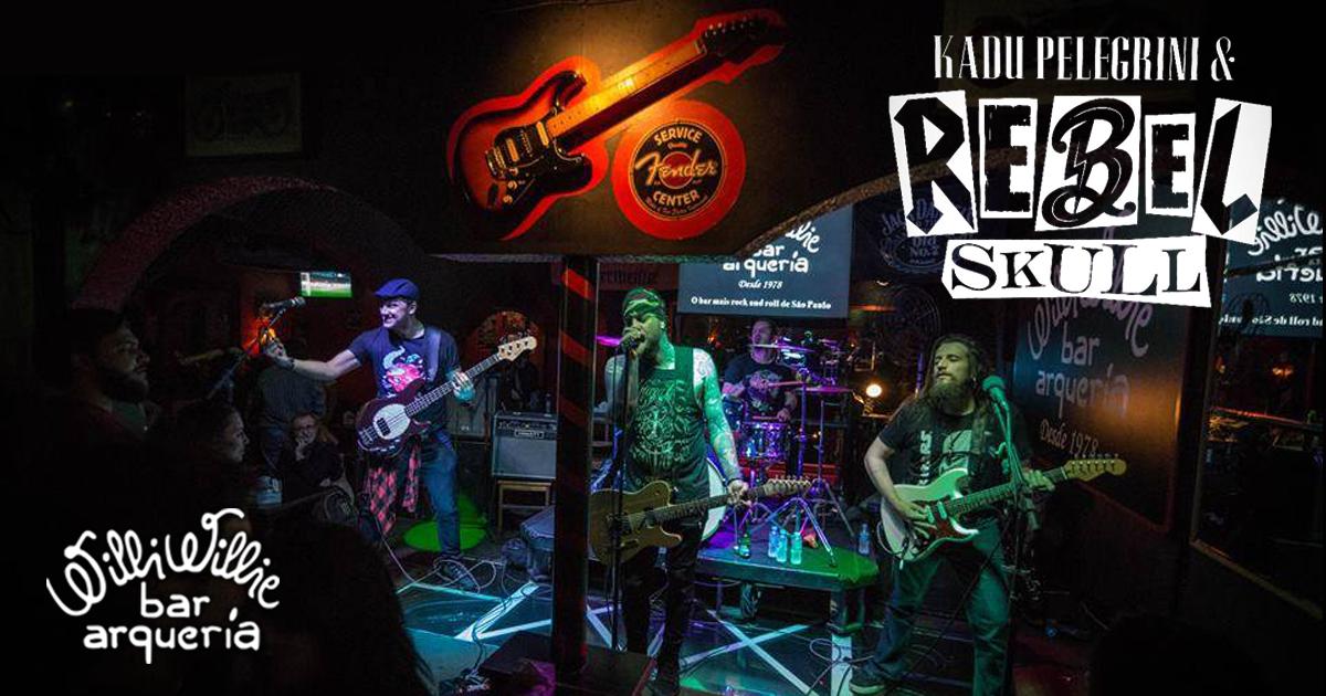 Programação - Cadu Pelegrini & Rebel Skulls (Rock and Roll)