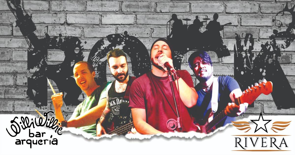 Programação - Banda Rivera (Pop Rock)