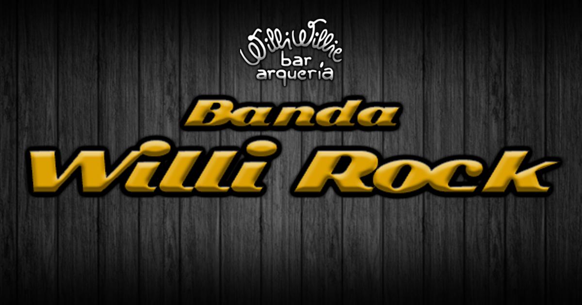 Programação - Banda Willi Rock (pop/classic rock) + Double Caipirinha