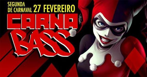 Segunda-feira de carnaval com Carnabass animando a folia no Clash Club com mais de 15 Djs  Eventos BaresSP 570x300 imagem