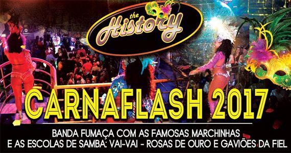 Balada The History comanda o carnaval com Escolas de sambas Eventos BaresSP 570x300 imagem