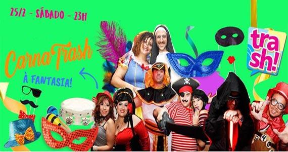 CarnaTrash à fantasia agita o sábado de carnaval no Clube Caravaggio Eventos BaresSP 570x300 imagem
