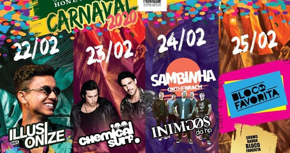 Illusinize, Inimigos da HP e mais no Carnaval Cafe de la Musique