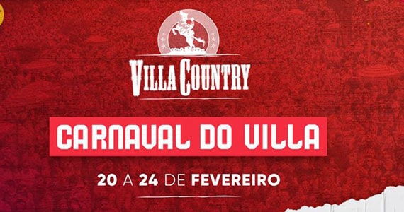 Villa Country realiza o Carnaval do Villa