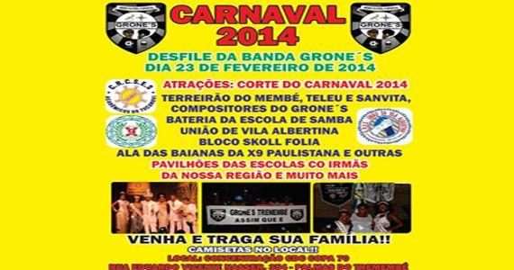 Banda Grone's celebra o pré carnaval na Rua Eduardo Vicente Nasser Eventos BaresSP 570x300 imagem