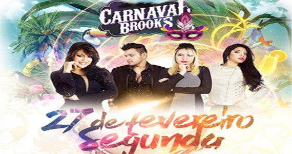Carnaval da Brooks com Brunna Bernardy e Trio Brassalis comandando a micareta  Eventos BaresSP 570x300 imagem