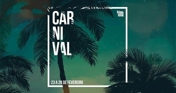 Quinta-feira véspera de carnaval a High Line recebe toda animação dos Djs Leo Cury e Ariel Bozza Eventos BaresSP 570x300 imagem