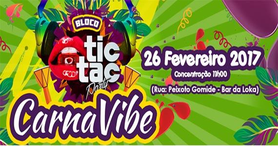 Bar da Loka recebe a concentração do Bloco CarnaVibe animando o carnaval 2017 Eventos BaresSP 570x300 imagem