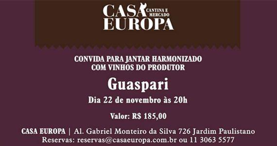Terça-feira é dia de saborear delicioso jantar harmonizado com vinhos Guaspari Eventos BaresSP 570x300 imagem