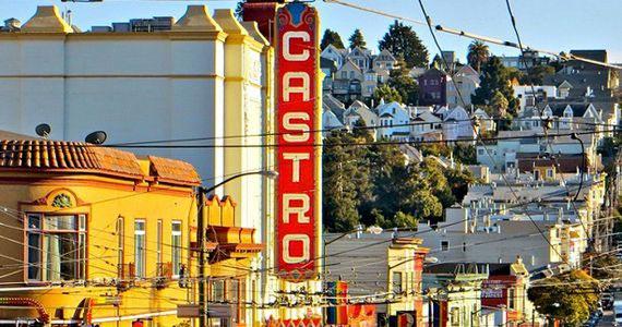 Festa Castro inspirada nos guetos e coloridos do bairro Castro em São Francisco na Air Club (Shopping Center Light) Eventos BaresSP 570x300 imagem