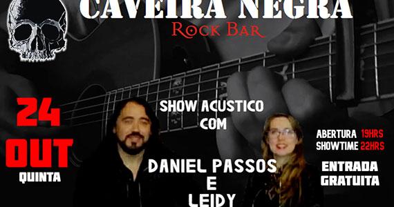 Caveira Negra recebe Daniel Passos e Leidy em show acústico Eventos BaresSP 570x300 imagem