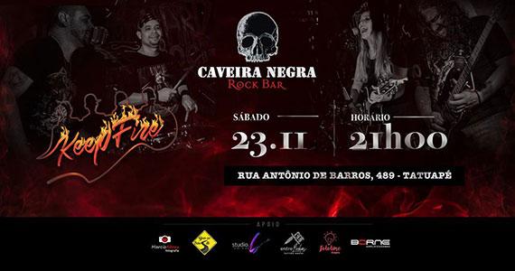 Keep Fire realiza show de rock no Caveira Negra Rock Bar Eventos BaresSP 570x300 imagem