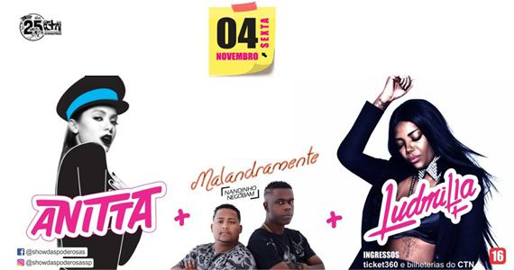 PRE-PA-RA que tem Anitta, Ludmilla e Mcs Nandinho e Nego Bam no palco do Centro de Tradições Nordestinas  Eventos BaresSP 570x300 imagem