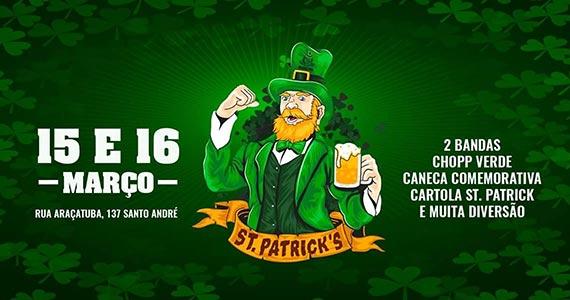Festa de St. Patrick's é realizado na Cervejaria Madalena em Santo André Eventos BaresSP 570x300 imagem