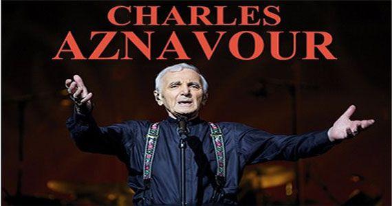 Espaço das Américas recebe a turnê de despedida Farewell Tour de Charles Aznavour Eventos BaresSP 570x300 imagem