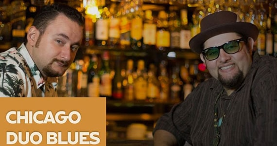 Chicago Duo Blues agita noite no Jacaré Grill