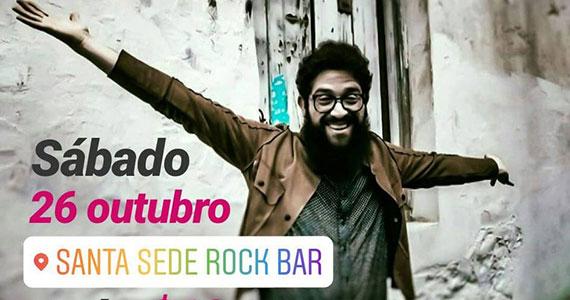 Santa Sede Rock Bar recebe Chico Suman com classic rock Eventos BaresSP 570x300 imagem