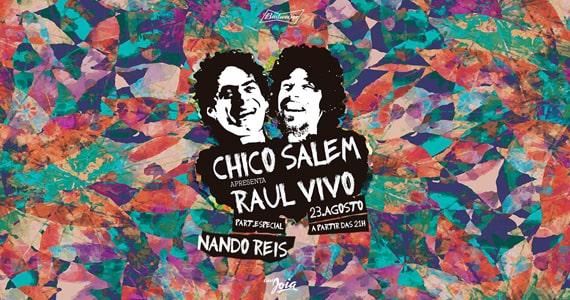 Chico Salem apresenta o show Raul Vivo com participação de Nando Reis no Cine Joia Eventos BaresSP 570x300 imagem