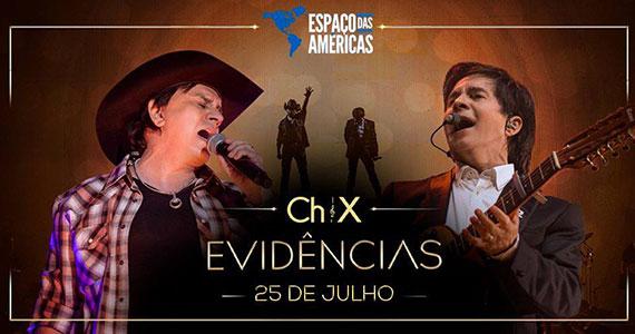 Chitãozinho e Xororó chega ao Espaço das Américas com a turnê Evidências Eventos BaresSP 570x300 imagem