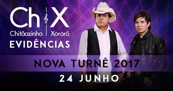 Chitãozinho & Xororó lança a sua mais nova turnê Evidências no palco do Espaço das Américas Eventos BaresSP 570x300 imagem