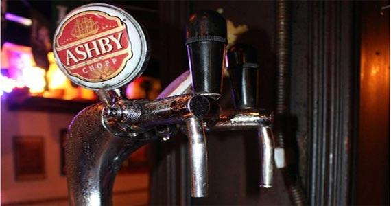 Chopp Ashby no Finnegan s Pub