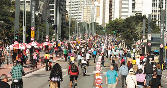 Ciclofaixa de Lazer em São Paulo aos domingos e feriados Eventos BaresSP 570x300 imagem