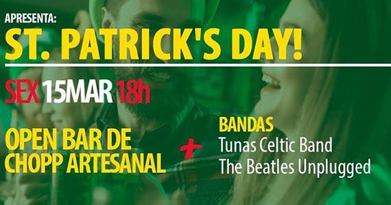 Cine Tupi comemora St. Patrick's Day com shows de bandas e cervejas Eventos BaresSP 570x300 imagem