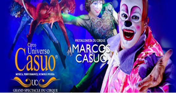 Repleto de cores e movimentos o espetáculo Universo Casuo Show se apresenta no Citibank Hall SP Eventos BaresSP 570x300 imagem