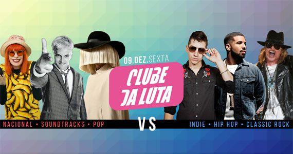 Clube da Luta Trilhas x Hip Hop, Indie x Pop e Nacional x Classic no Beco 203 Eventos BaresSP 570x300 imagem