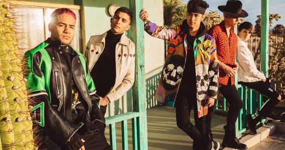 Grupo de pop latino CNCO apresenta show no Tom Brasil em Novembro  Eventos BaresSP 570x300 imagem