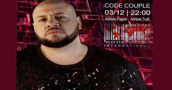 Noite Code Couple é embalado pelos Djs Adriano Pagani e Adriano Trulli no Code Club Eventos BaresSP 570x300 imagem