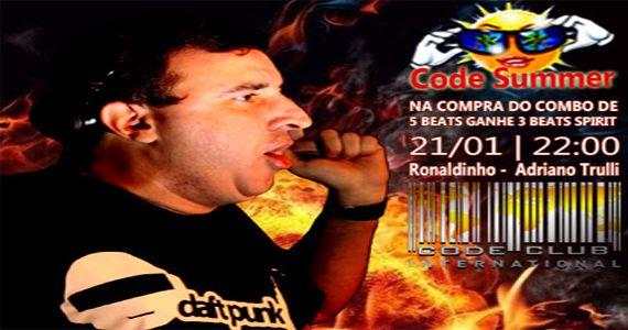 Code Club embala à noite de sábado com os Djs Adriano Trulli e Ronaldinho no Code Summer Eventos BaresSP 570x300 imagem