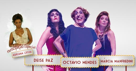 Comédia Coisa de Mulher retrata uma apresentadora famosa em dia de surto ao vivo no Teatro Gazeta Eventos BaresSP 570x300 imagem