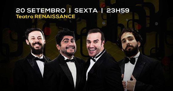 Teatro Renaissance exibe toda sexta-feira Comédia Ao Vivo Eventos BaresSP 570x300 imagem