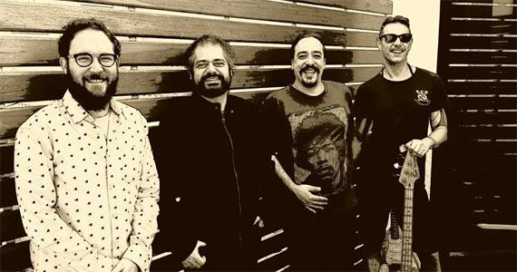 Banda Cosmic Jungle comanda a noite com muito pop rock no B Music Bar Eventos BaresSP 570x300 imagem
