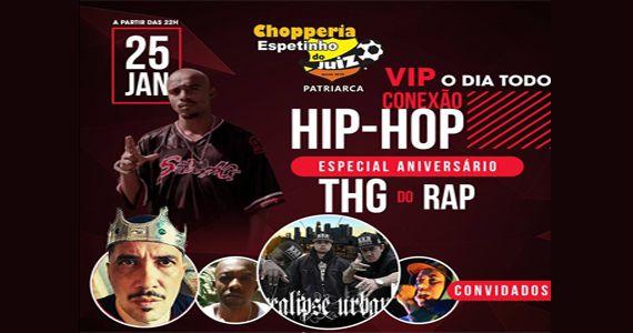 Projeto Conexão Hip Hop com Apocalispe Urbano, Luciano Plêiade Infinity e Rude Ras no Bar Espetinho do Juiz Eventos BaresSP 570x300 imagem