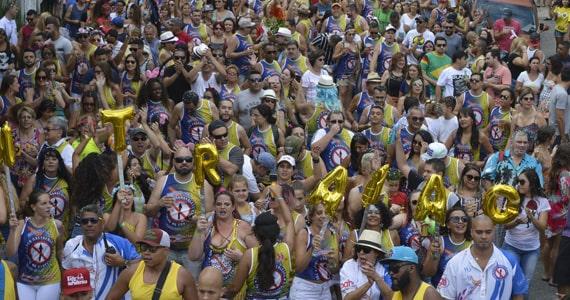 Bloco Todos na Contra Mão desfila no Carnaval de Rua em Santana Eventos BaresSP 570x300 imagem