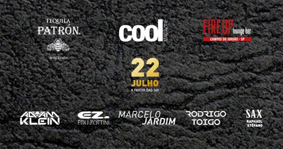 Sunset party da Cool Magazine animando a noite do Fire UP em Campos do Jordão Eventos BaresSP 570x300 imagem