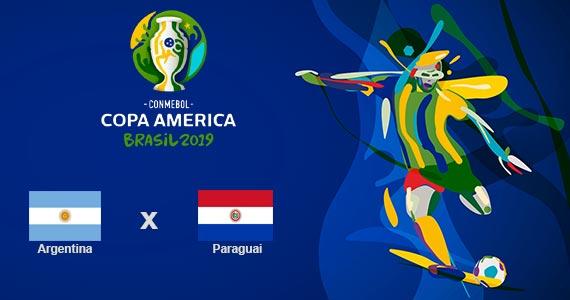 Jogo entre Argentina x Paraguai é transmitido no Bar Léo Eventos BaresSP 570x300 imagem