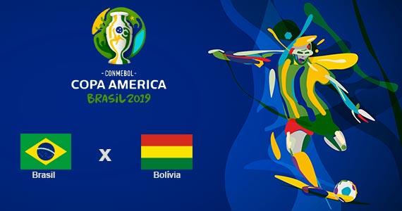 Bar Léo transmite estreia do Brasil na Copa América Eventos BaresSP 570x300 imagem