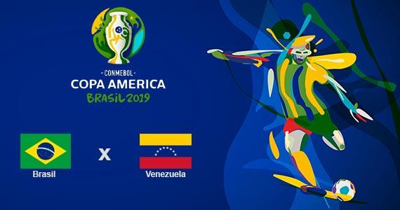 Bar Léo exibe jogo entre Brasil x Venezuela na Copa América Eventos BaresSP 570x300 imagem