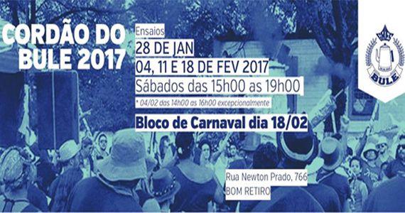 Bloco Cordão do Bule desfila pelas ruas do Bom Retiro com roda de samba e marchas carnavalescas  Eventos BaresSP 570x300 imagem