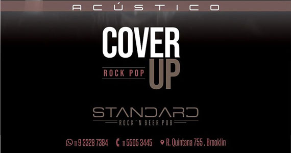 Cover Up apresenta o rock pop acústico no Standard Pub