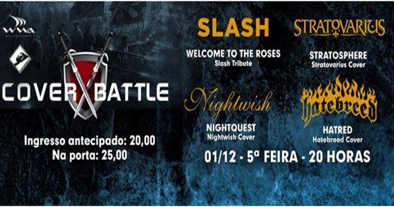 Quinta-feira vai rolar Cover Battle: Slash Tribute no Manifesto Bar Eventos BaresSP 570x300 imagem