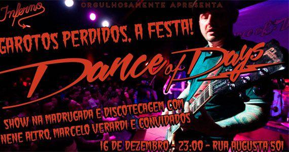 Festa Garotos Perdidos com show Dancing Of Days no Inferno Club Eventos BaresSP 570x300 imagem