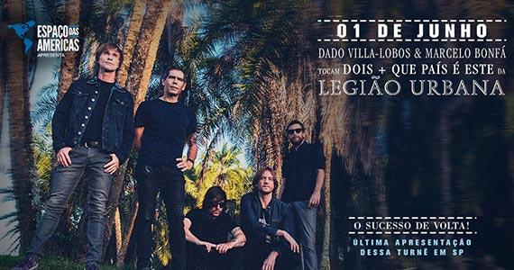 Dado Villa-Lobos e Marcelo Bonfá tocam Dois e Que País É Esse da Legião Urbana Eventos BaresSP 570x300 imagem