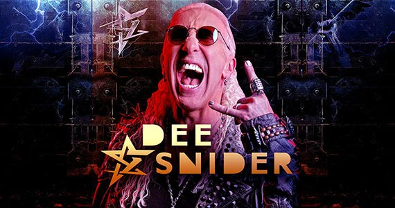 Dee Snider desembarca ao Brasil em show solo