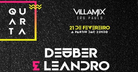 Villa Mix recebe o som da dupla Deuber & Leandro soltando a voz  Eventos BaresSP 570x300 imagem