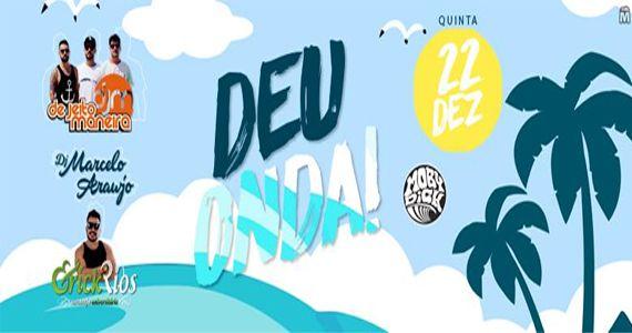 Quinta de Verão com De Jeito Maneira, Dj Bruno Peresno e Erick Rios no Moby Club Deu Onda Eventos BaresSP 570x300 imagem